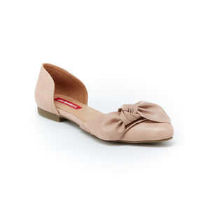 UNIONBAY Shoes - NEW Unionbay Bow D'Orsay Nude Slip On Flats